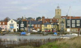 Wivenhoe Quay (by Bonnie Hill)